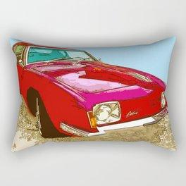 Vintage Car - Studebaker Avanti Rectangular Pillow