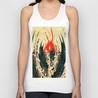 dragon Tank Tops featuring  Dragon  by Shane R. Murphy