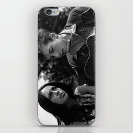 Bob Dylan and Joan Baez at the March on Washington, 1963 iPhone Skin