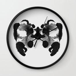 Form Ink Blot No. 20 Wall Clock