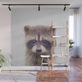 Raccoon - Colorful Wall Mural