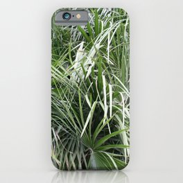 Plethora Of Palm Fronds Abstract Photography iPhone Case