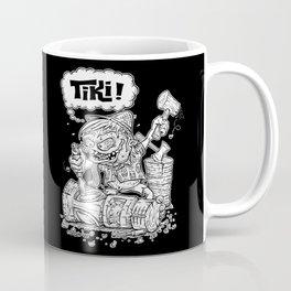 Tiki Carver... Rat Fink Monster Chisler! Coffee Mug
