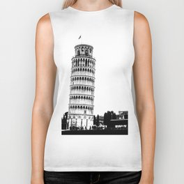 The Leaning Tower. Biker Tank