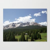 colorado Canvas Prints featuring Colorado by America Yall