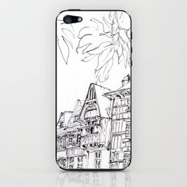 a few timber frames iPhone Skin