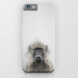 Baboon - Colorful iPhone Case