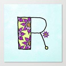 R r Canvas Print
