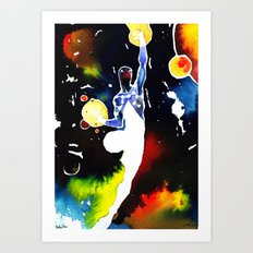 Universal power Art Print