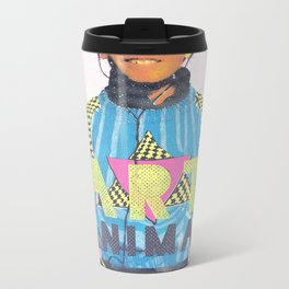 Party Animal Metal Travel Mug