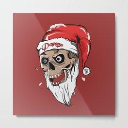 Hello Christmas Metal Print