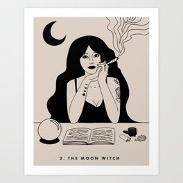2. THE MOON WITCH (THE HIGH PRIESTESS) Kunstdrucke