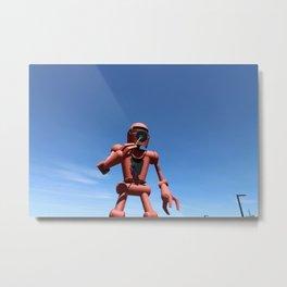 The Giant Robot Metal Print
