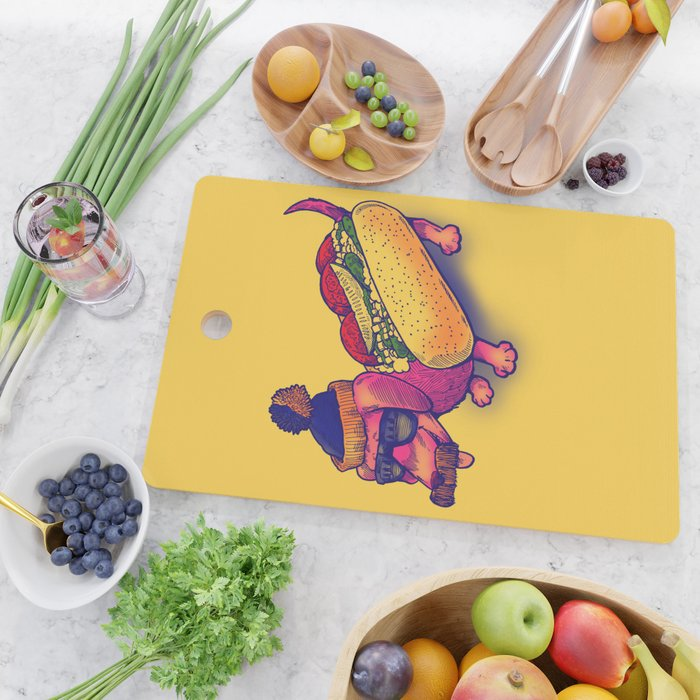 Chicago Dog Cutting Board