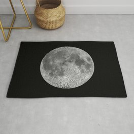 Nasa Picture 18: moon nearside Rug