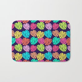 Monstera Deliciosa Print Bath Mat