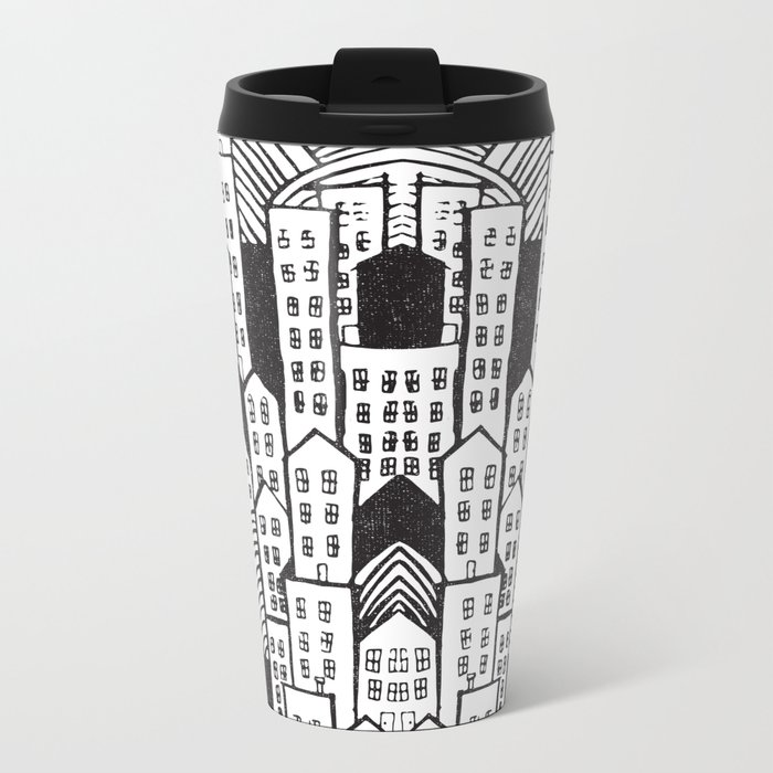 SPRAWL Metal Travel Mug