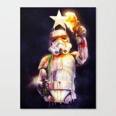 Star Wall I Canvas Print