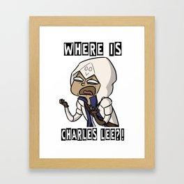 Where Is Charles Lee?! Framed Art Print