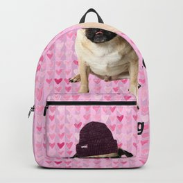 Pug Love Backpack
