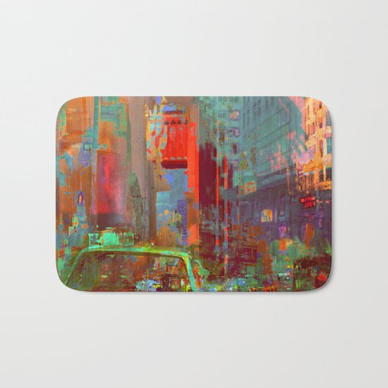 A commonplace day Bath Mat