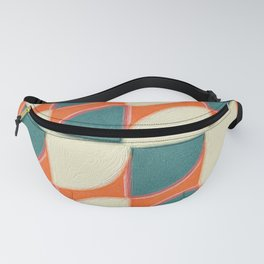 Red Quarters Blue and White Fanny Pack