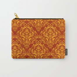 Halloween damask colors #2 Carry-All Pouch