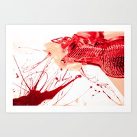 Bleed for your craft Art Print