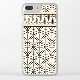 "Art Deco . ""Mirabelle "". Clear iPhone Case"