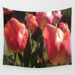 Stay Strong... Spring Is Coming! Wall Tapestry