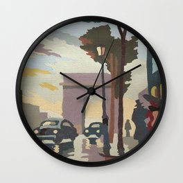 Mother's Paris Wall Clock