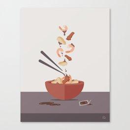 Stir Fry Canvas Print