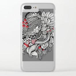 Magischer Nacht Garten Clear iPhone Case