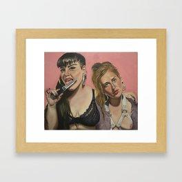 Destroy the Patriarchy Framed Art Print