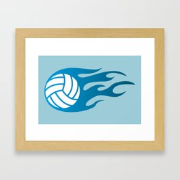 The Volleyball I Framed Art Print