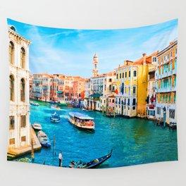 Italy. Venice lazy day Wall Tapestry