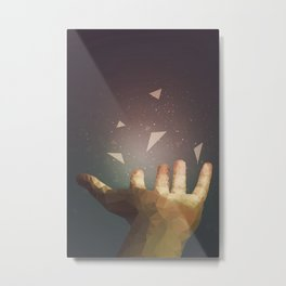 Healing Hand Metal Print
