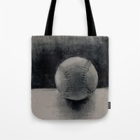 baseball Tote Bags featuring Baseball by LeavittArtz
