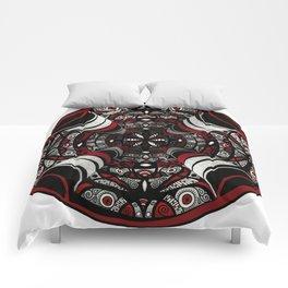 Muladhara root chakra mandala. Comforters