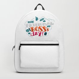 National Boss Day Backpack