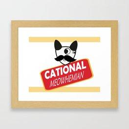 Catty Bo Framed Art Print