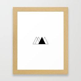 Everydaygeometric - Day Five -  Framed Art Print