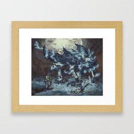 Darkbeast Paarl Framed Art Print