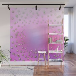 Lost in glam space Wall Mural