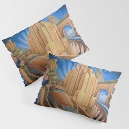 I Will Possess Your Heart - New York City Art Deco Landscape Pillow Sham