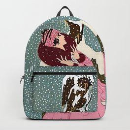 """The End of Romance"" Deco Design Backpack"