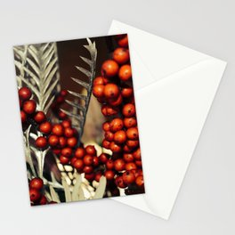 holly berries 715 Stationery Cards