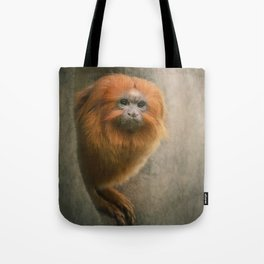 Little Golden Headed Lion Tamarin Tote Bag