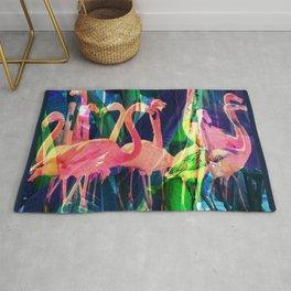 Flamingo Dance Rug
