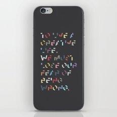 Creative Life. iPhone & iPod Skin